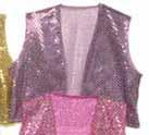 lavender sequin vest