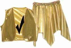 Gold Foil Vest