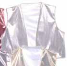 silver foil vest