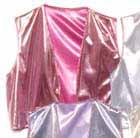Pink Foil Vest