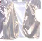 light gold foil vest