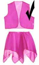 Pink Sparkle Sheer Vest