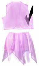 Lavender Sparkle Sheer Vest