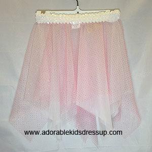 Dance Skirts for Kids – Pink Glitter