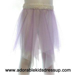 Little Girls Dance Skirt – lavender