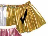 Gold Foil Circle Skirt