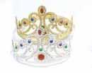 Jeweled Crown (1 pc.)