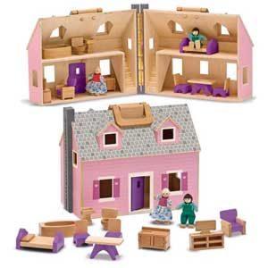 Fold & Go Doll House