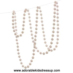 Pearl Bead Necklace 48 inch (1pc.)