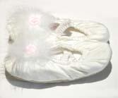 Girls Ballet Slippers – white