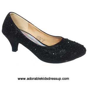 girls high heel pumps