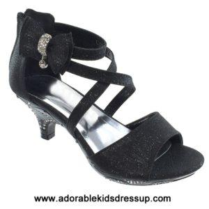 High Heels for Kids – black