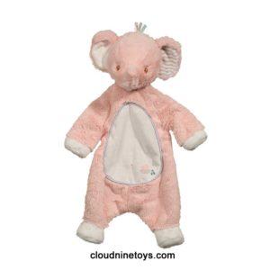 Douglas Sshlumpie Pink Elephant Baby Blanket