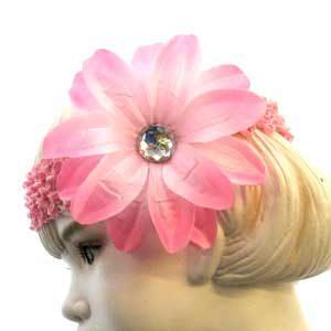 Flower Stretch Headbands: Toddler - Child