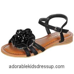 little girls flat sandals