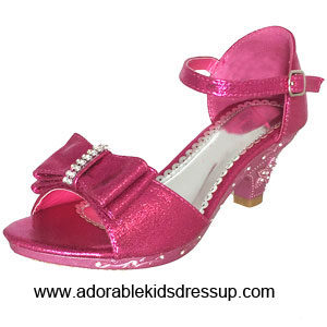 flower girls shoes   pink