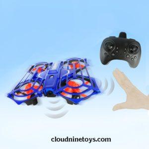Mini Drone Hand-Sensor Gesture Drone + Remote