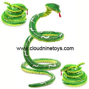 large stuffed snake