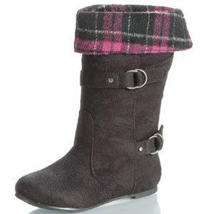 girls black dressy boots