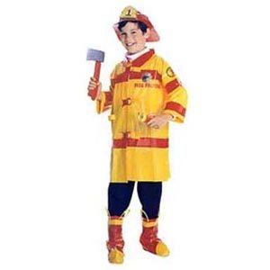 Boys Fireman Costume-Yellow