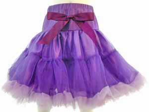 Girls Pettiskirt – purple
