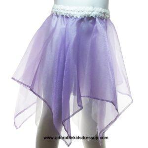 Kids Dance Skirt – Lavender Sparkle