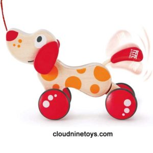 Pepe Wooden Pull Toy Puppy
