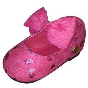 Infant Mary Jane Shoes – fuchsia