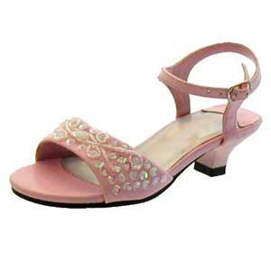 girls high heel shoes   pink