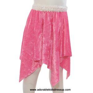 Dance Skirt for Kids – Pink Panne