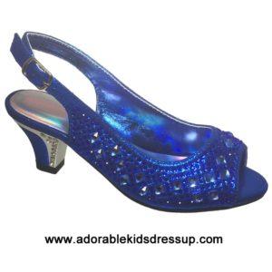 Heels for Kids – Royal Blue