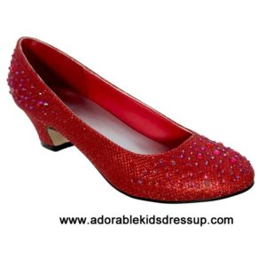 High Heels for Kids – red pumps