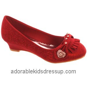 little girls wedge shoes