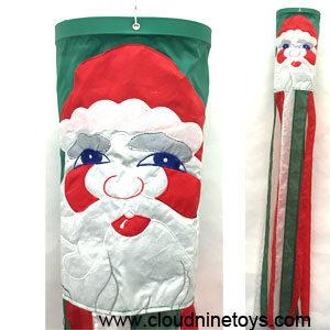 Santa Windsock Christmas