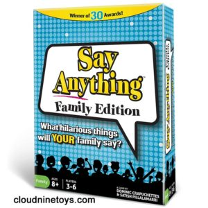 Say Anything Board Game Family Edition
