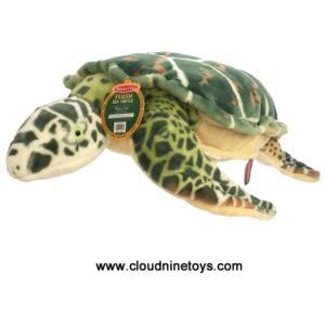 Large Stuffed Sea Turtle Toy