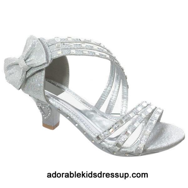 kids strappy high heels