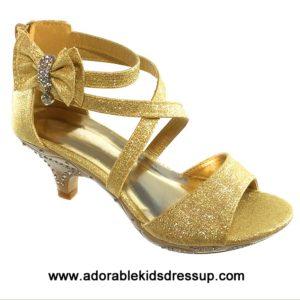 High Heels for Kids – gold