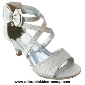 High Heels for Kids – silver