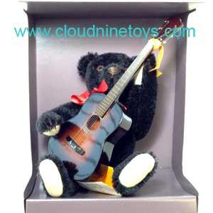 steiff bobby teddy bear with guitar