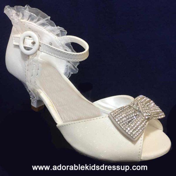 flower girl high heels