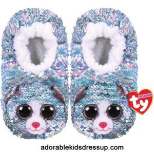 ty boo slipper whimsy kitty