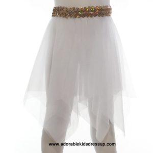 Dance Skirts for girls – White