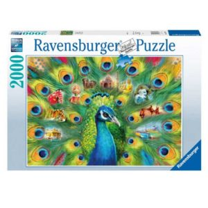 Ravensburger Land of the Peacock 2000 Piece Jigsaw Puzzle