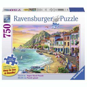 Ravensburger Romantic Sunset 750 Piece Large Pieces Jigsaw Puzzle