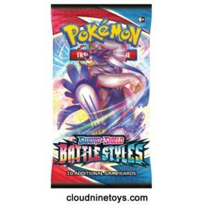Pokemon Booster Cards Battle Styles