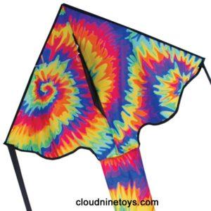 Regular Easy Flyer Delta Kite – Tie Dye