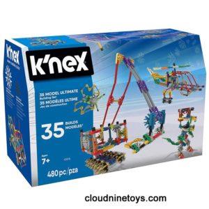 K'NEX – 35 Model Building Set – 480 Pieces