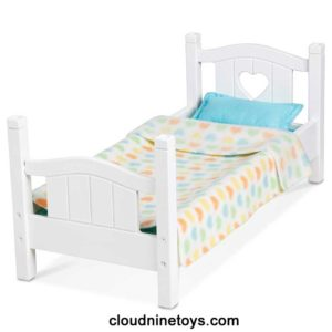 Wooden Play Bed for Dolls