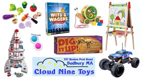 cloud nine toys sudbury wayland concord framingham